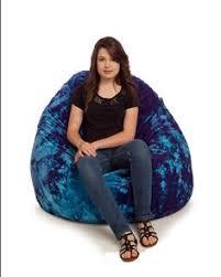 purple classic vinyl bean bag chair large large bean bag chairs
