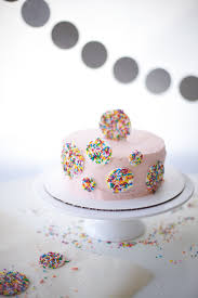 Cake Decorating With Sprinkles A FREE Step by Step Tutorial