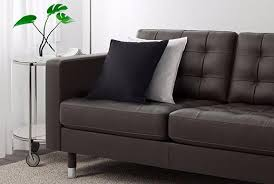 zweisitzer sofa ikea zweisitzer sofas aus leder kunstleder ikea