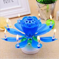 lotus birthday candle online shop 7 parttens electronic birthday candle candle