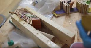 make a baseball bat out recycled skateboards interview