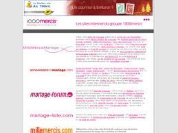 1000mercis mariage annuaire des meilleurs liste de mariage 2017