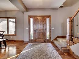 Entryway Cabinets Country Entryway With Carpet U0026 Hardwood Floors In Ham Lake Mn