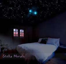 glow in the dark bedroom glow in the dark star ceiling neverland second star to the right