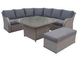 canapé de jardin en résine tressée salon de jardin tresse d angle meilleur idées de conception de