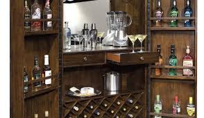 bar wine rack and bar startling bar cart with wine rack