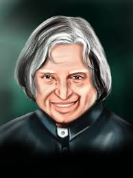 learn how to draw apj abdul kalam politicians step by step
