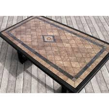 slate outdoor dining table 85 best tile top patio table images on pinterest patio table