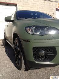olive green bmw matte military green bmw x6 vehicle customization shop vinyl