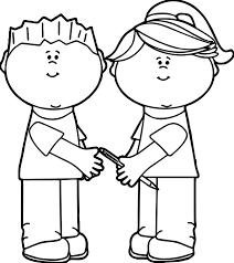 kids sharing kids coloring page wecoloringpage