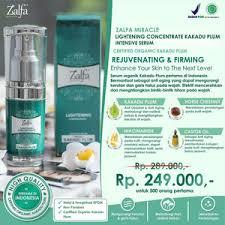 Serum Zalfa Miracle jual zalfa miracle lightening concentrate kakadu plum intensive