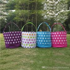 wholesale easter buckets wholesale blanks polka dot easter buckets easter tote
