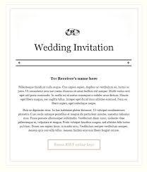 wedding invitations email wedding invitation email sle sunshinebizsolutions marriage