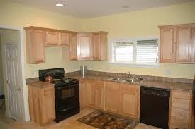 black appliances kitchen ideas kitchen with oak cabinets with black appliances maple kitchen