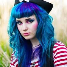 middle age women with blue hair april 2013 elysianhunter always inciteful