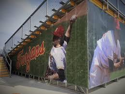 baseball windscreens windscreen midwest cover we manufacture outfield windscreens