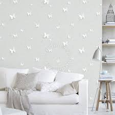 butterfly on light green wallpaper for fully deco furniture