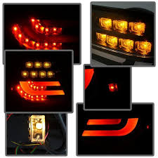 2004 bmw 330i tail lights spyder red smoke lightbar style led tail lights for 2004 2006 e46