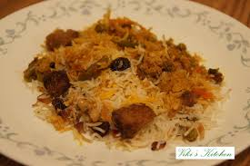 Biryani Decoration Viki U0027s Kitchen Hyderabadi Vegetable Biryani