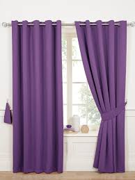 purple curtains living room plum and blinds home idolza