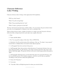 letter of recommendation resume examples letter of