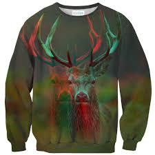 deer sweater shelfies