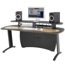 Music Studio Desk Plans by Music Studio Desk Aka Design Pro Media Desk Dv247 Valine