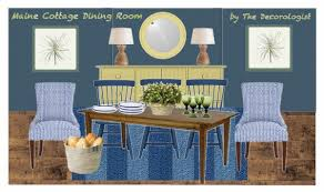 Maine Dining Room How To Create A Maine Cottage Dining Room The Decorologist