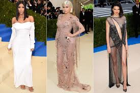 kim kardashian kylie and kendall jenner at the met gala photos