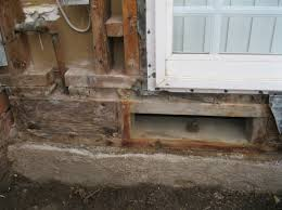 need some direction replacing wood attached to concrete foundation