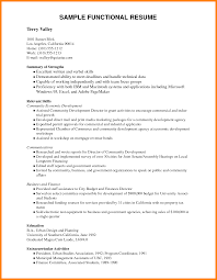 Sample Resumes For Job Application example of resume for job application