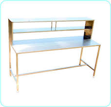 packing table with shelves ss control packing table ss hospital furniture katraj pune ms