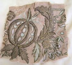 Antique Ottoman Ottoman Embroidery Interesting Antique Ottoman Metallic