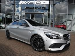 used mercedes cla used 2017 mercedes benz cla class cla 200d amg line 4dr tip auto