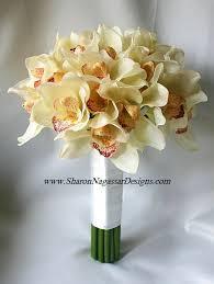wedding flowers orchids nagassar designs silk real touch custom wedding