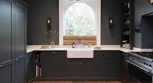 black shaker style kitchen cabinets 25 black kitchen ideas