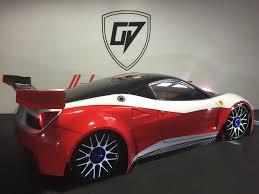 Ferrari 458 Gt - kyosho ferrari 458 italia custom 1 8 body shell oak man designs
