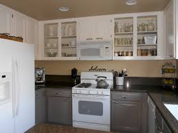 Melamine Kitchen Cabinets Further Details Of Painting Kitchen Cabinets Before And After