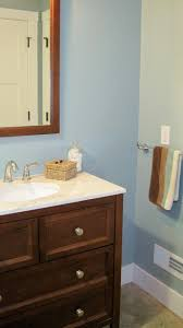 29 best blue brown bathroom images on pinterest blue brown i married a tree hugger coastal blue guest bathroom