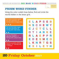 2017 365 new words a year page a day calendar by merriam webster