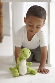 learn how to knit a dinosaur toy canadian living