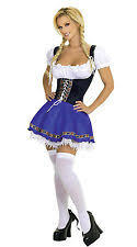 Beer Maid Wench Costume Oktoberfest Couple Gretchen German Fancy by Oktoberfest Costume Ebay