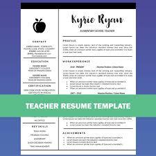 the 25 best teacher resume template ideas on pinterest jobs for