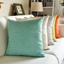 acheter coussin canapé pas cher couleur unie coussin pour canapé unie épaissir de haute