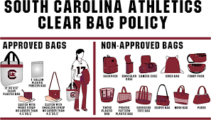 North Carolina Travel Purses images South carolina implements clear bag policy for all ticketed png