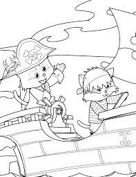 pirate coloring handipoints