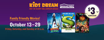 kids halloween movies list dream not so scary halloween series