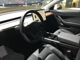 tesla model 3 interior seating tesla model 3 fit and finish quality is