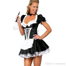 Quality Halloween Costumes Adults 2017 Excellent Quality French Maid Costume Deluxe