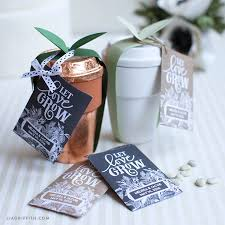 wedding favors seed packet wedding favors lia griffith